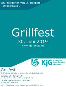 Grillfest 2019 @ Pfarrgarten von St. Heribert